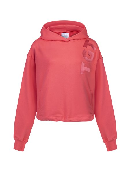 TGTHER CROPPED HOODIE KORALLE XL