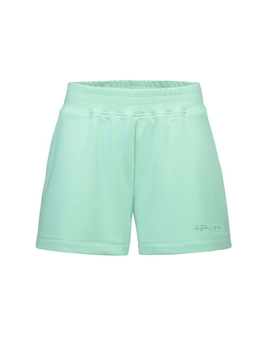 TGTHER SHORTS PEPPERMINT M